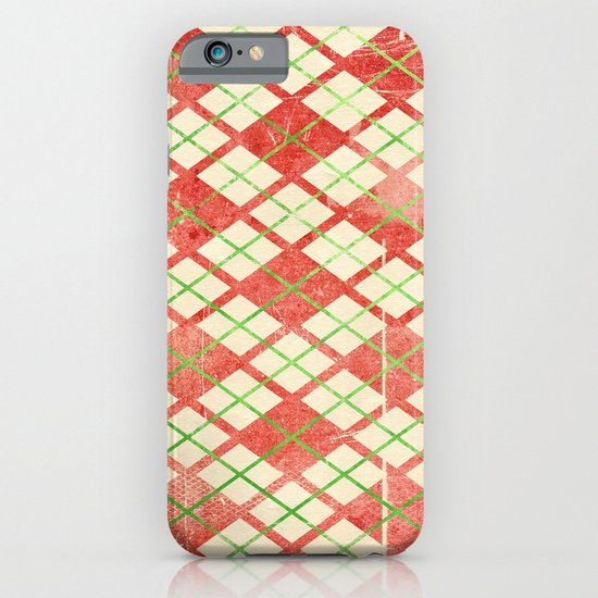 Vintage Wrapping Paper iPhone & iPod Case