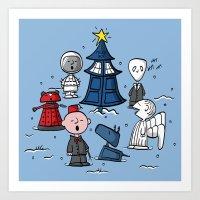 A Charlie Who Christmas Art Print