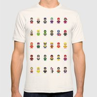 Really Super Mario Vs Re… Mens Fitted Tee Natural SMALL