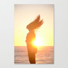 Subdued Sunlight. Canvas Print