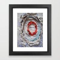 Personal Habit #1 Framed Art Print