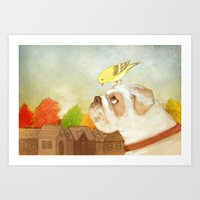 A Song For Sweetie Art Print