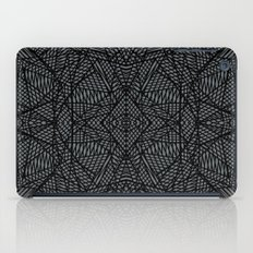 Ab Lace Black and Grey iPad Case