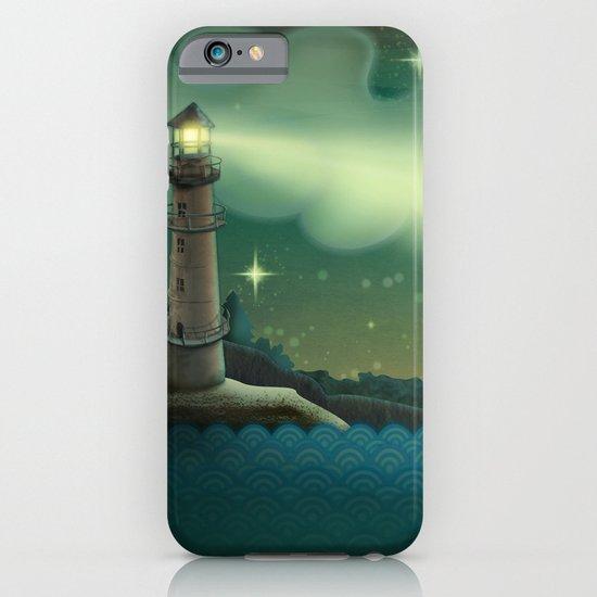 Sea landscape iPhone & iPod Case