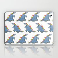Stomp-a-saurus! Laptop & iPad Skin
