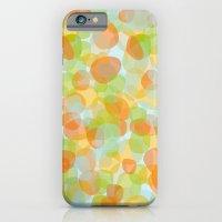 Pebbles Orange iPhone 6 Slim Case