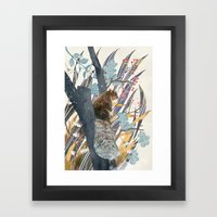 Waiting For Autumn Framed Art Print