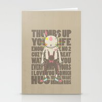 THUMBS UP YOUR LIFE Stationery Cards