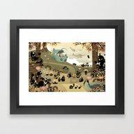The Octonauts Sea Of Sha… Framed Art Print