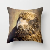 Fine Feathered Friend Throw Pillow