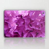 through the purple hydrangea Laptop & iPad Skin