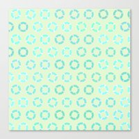 RING FLOAT PATTERN Canvas Print