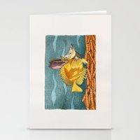 Foxface Rabbit Fish Stationery Cards