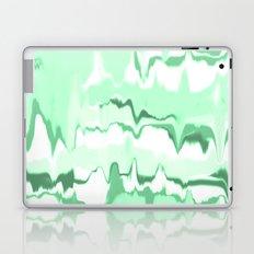 Marbled in emerald Laptop & iPad Skin