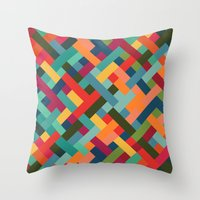 Weave Pattern Throw Pillow
