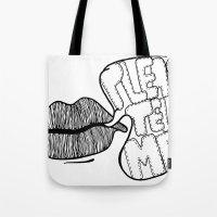 Please Tell Me Tote Bag