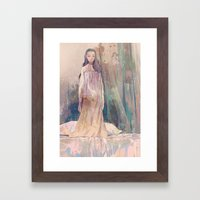 Negligee Framed Art Print