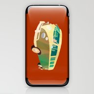 iPhone & iPod Skin featuring Kombi 1 by Buster Fidez