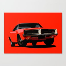 DODGE CHARGER R/T Canvas Print