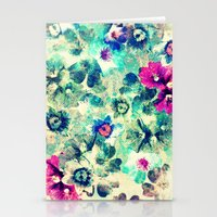 VINTAGE FLOWERS XXXVII - for iphone Stationery Cards