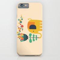 Elephant with giant flower iPhone 6 Slim Case