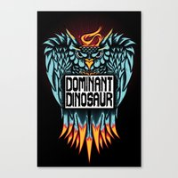 Dominant Owl Canvas Print