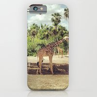 Giraffe Family iPhone 6 Slim Case