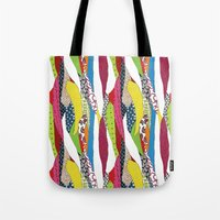 Patchwork Pattern Tote Bag