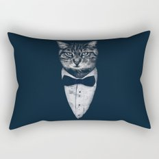 Mr Cat Rectangular Pillow
