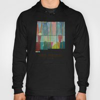 New Mexico Map Modern Hoody
