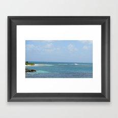 Shipwrecked - Antigua Framed Art Print
