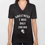 Unisex V-Neck featuring Sweetness by Anna Dorfman