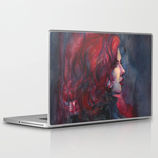Widow Laptop & iPad Skin