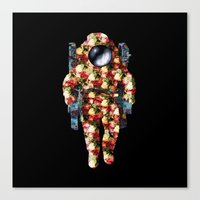Deep Space Fashion Canvas Print