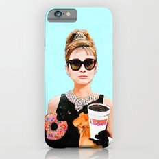 Breakfast at Dunkin Donuts - Audrey Hepburn iPhone 6 Slim Case
