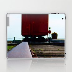 The track and the Train Laptop & iPad Skin