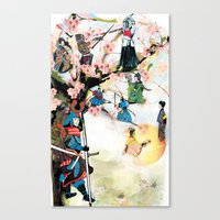 Japanese 2  Canvas Print