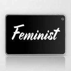 Feminist (on black) Laptop & iPad Skin