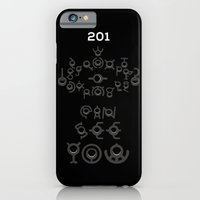iPhone & iPod Case featuring #201 UNOWN by Daniel Bevis