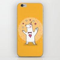CIRCUS BEAR iPhone & iPod Skin