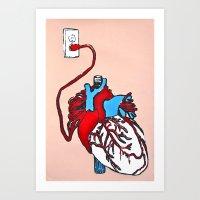 Take it to Heart Art Print