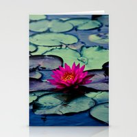 Twilight At The Lily Pon… Stationery Cards