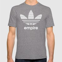 Star Wars-Empire Mens Fitted Tee Tri-Grey SMALL