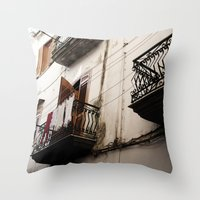 AMALFI, ITALY Throw Pillow