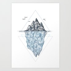 Iceberg Art Print