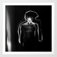 Light him_ Art Print
