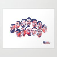 Team USA Art Print