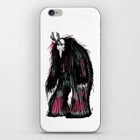 Yeti Beast iPhone & iPod Skin