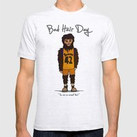 bad hair day no:2 / Teen Wolf Mens Fitted Tee Ash Grey SMALL