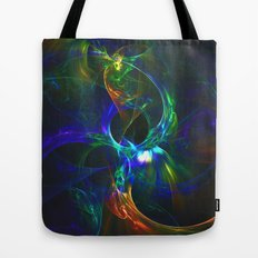 Abstraction. Solar eclipses . Tote Bag